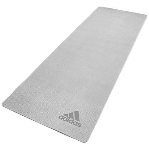 Premium yogamatta – 5 mm – grå