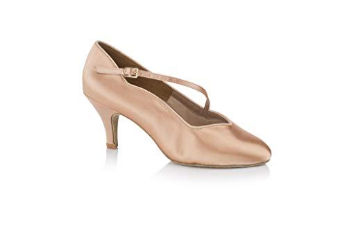 Freed of London Kylie CS, Zapatillas de Baile para Mujer, Blanco, 37 EU