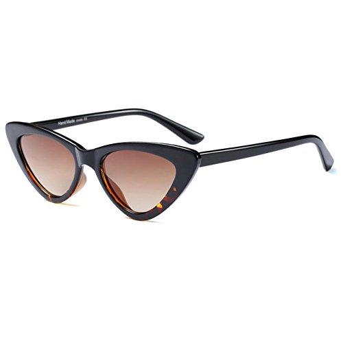 Hzjundasi Fashion Mod Chic Super Cat Eye Dreieck Sonnenbrille Frauen Vintage Retro Brillen