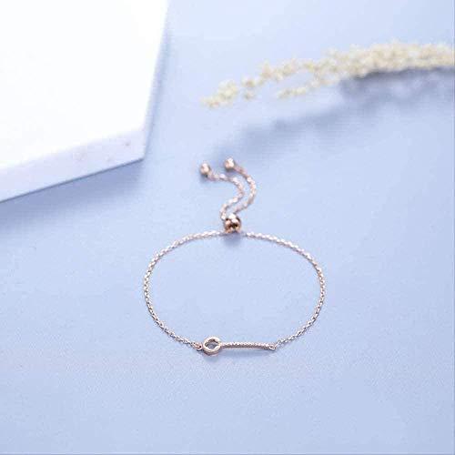ZHIFUBA Co.,Ltd Collar Collar Moda Personalidad Joyería Pulsera Moda Estilo Elegante Pulsera de Cadena de Mano Brazalete Pulsera Regalo