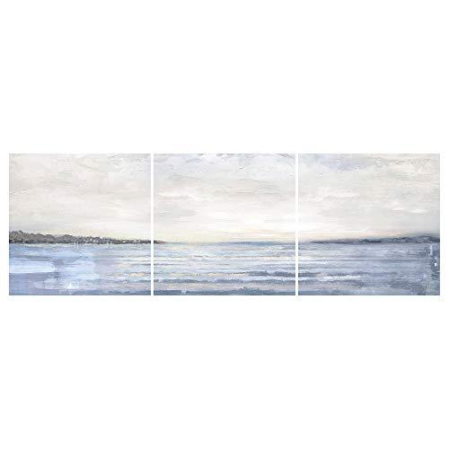 PJÄTTERYD bild, set med 3 56 x 56 cm kust
