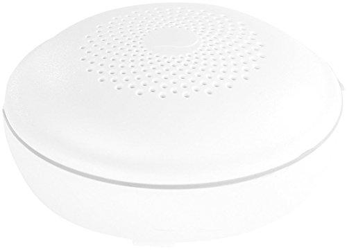 VisorTech Wasseralarm WLAN: Funk-Wassermelder vernetzbar, optionale App-Anbindung per WMS-250.gw (Wasserwarnmelder)