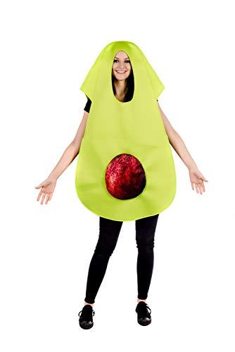 Fun Shack Verde Aguacate Disfraz para Hombres y Mujeres - Un Tamaño