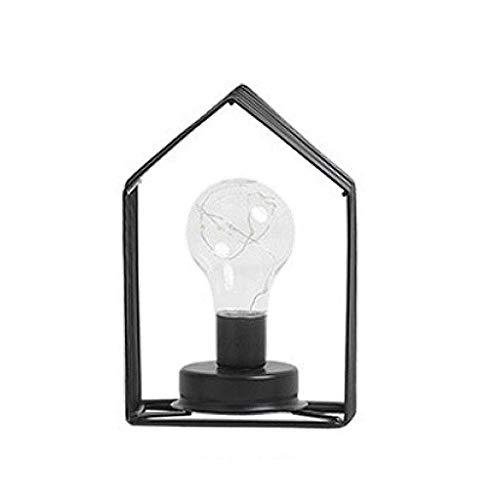 boaber Nórdico estilo creativo decorativo faro negro lámpara de mesa para decoración de la habitación decoración interior iluminación accesorios