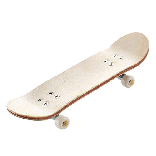 Nettes Panda Muster Holz Griffbrett Finger Skate Board Körnung Schaumband Ahorn