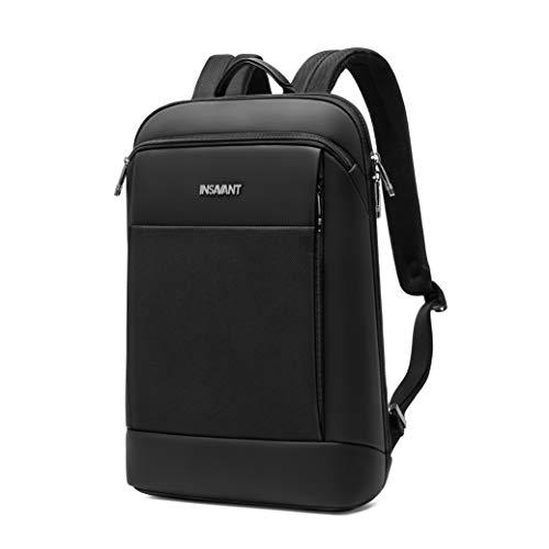 INSAVANT Super Slim Laptop Backpack Business Backpacks Travel Anti Theft Backpack Waterproof College Backpack for 15.6 Inch Laptops Best Gift for Dad Husband Boyfriend