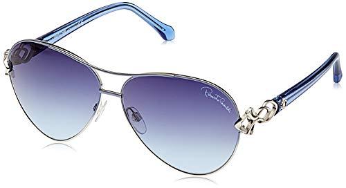 Roberto Cavalli Damen Rc1078 Sonnenbrille, Blau, 61