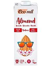 Ecomil Biologische amandeldrank (zonder suiker), 6 stuks à 1 liter.