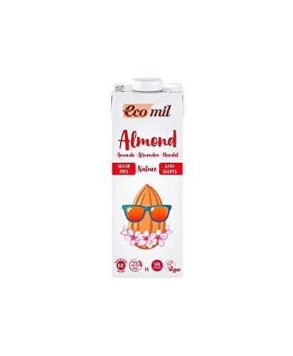 Bebida de Almendras Bio (sin Azúcar) 6 unidades de 1 litro de Ecomil