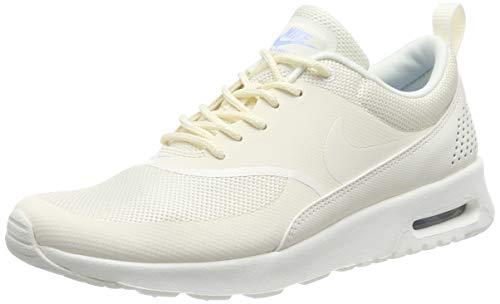 Nike Damen Air Max Thea Sneaker, Beige (Pale Ivory/Sail-Aluminum 112), 40.5 EU