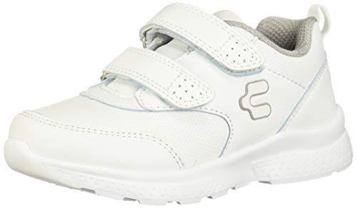 Charly 1069440 Tenis para Correr para Niñas, Color Blanco, 15