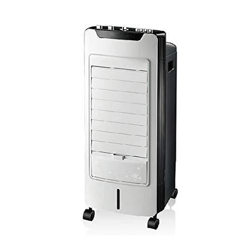 Jieer Enfriador de Aire, Aire Acondicionado Móvil, Aire Acondicionado Evaporativo Portátil, Ventilador y Temporizador de 3 Velocidades, Ventilador de Enfriamiento Silencioso para Oficina en el Hogar 6