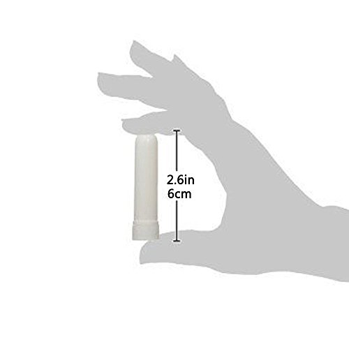 zison Nasal Inhaler Tubes - Kit Contains: 24 Empty Nasal Inhaler Tubes (with Wicks) in 12 Extra Wicks,36 Writable Stickers, 2 Mini Droppers and 1 Tweezers
