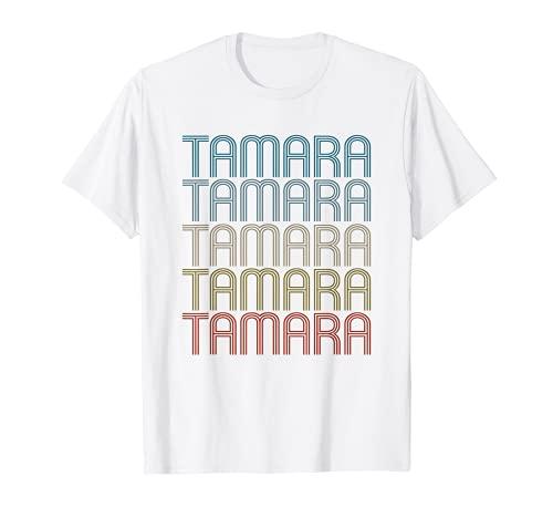 Tamara Primer Nombre Vintage Retro Camiseta