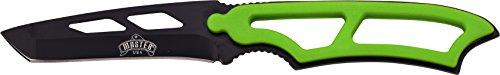 Master USA Outdoormesser, Gesamtlänge cm: 19,05, grün nylon fiber griff lanyard, MAUS-1522