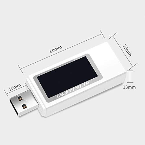 Affordable 9 in 1 DC USB Tester Current 4-30V Voltage Meter Timing Ammeter Digital Monitor Cut-Off P...