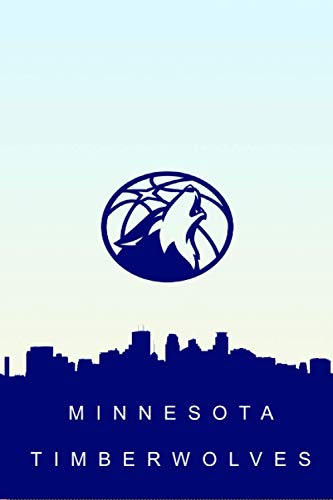 MINNESOTA TIMBERWOLVES: (Basketball Club) Notebook / Journal / bloc note - 120 pages 6x9