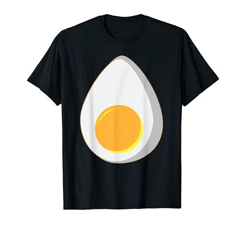 Disfraz de huevo devilled   Regalo de huevo hervido fresco Camiseta