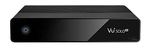 VU+ Solo SE V2 1x DVB-S2 Tuner Linux Receiver (Full HD 1080p) schwarz