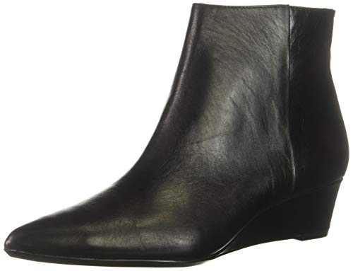 Calvin Klein Women's GAEL Ankle Boot, Black, 6 M US