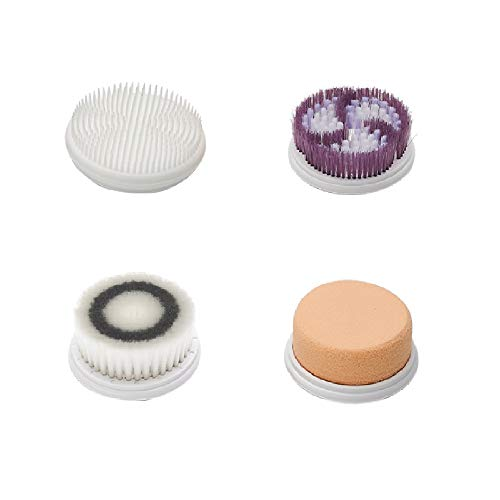 4 Replacement Brush Heads for Model IW9036 Facial Cleansing Brush Deep Pore Cleansing Gentle Exfoliating&Remove Blackhead Acne