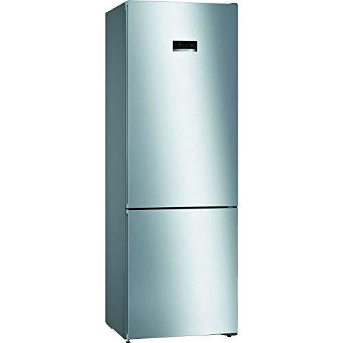 Bosch Serie 4 KGN49XLEA frigorifero con congelatore Libera installazione Acciaio