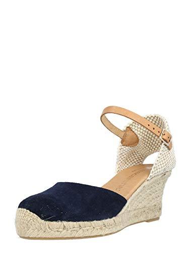 Macarena Damen Sandale ANA Dunkelbeige 40