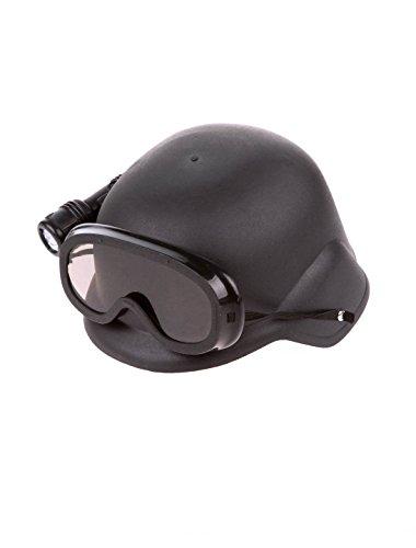 Deiters Helm mit Brille und Taschenlampe