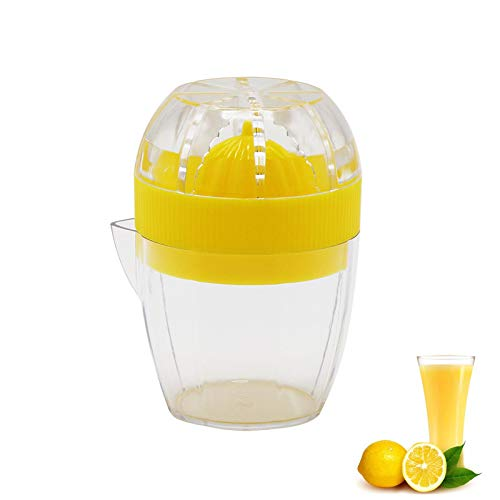 lemonsqueezerJuicer SqueezerOrange ABS Nonslip lime Squeezer with Strainer and Builtin Measuring Cup
