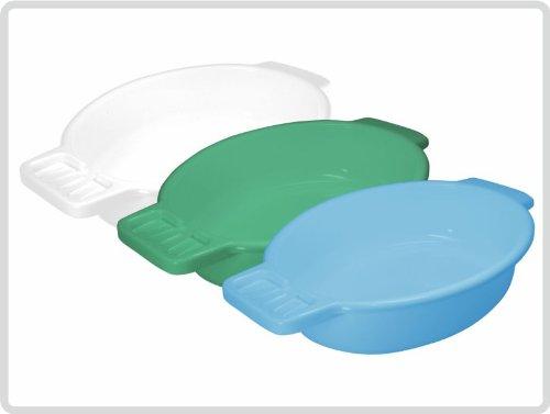 Waschschale Waschschüssel aus Kunststoff mit Seifenablage, Farbe: blau *Top-Qualität zum Top-Preis*