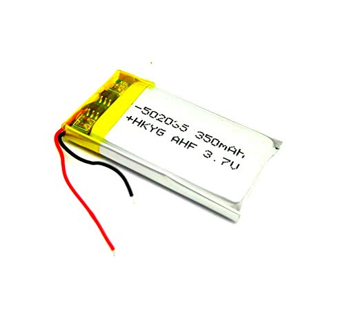 INVENTO 3.7V 380 mAh Li-ion rechargeable battery 35x20x5mm For Quadcopter Helicopter Drones GPS PDA DVD iPod Tablet PC