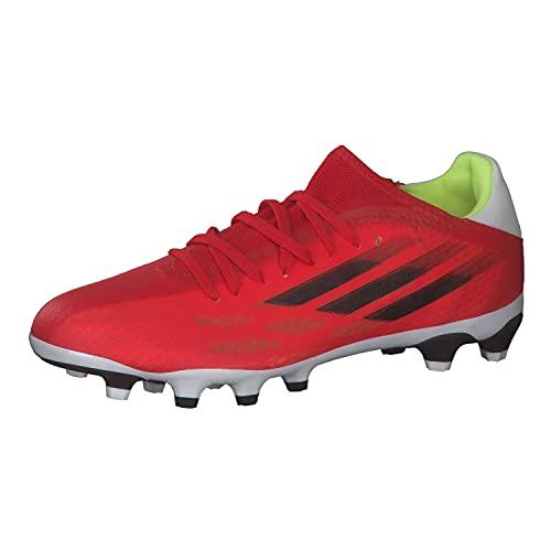 adidas X SPEEDFLOW.3 MG, Zapatillas Deportivas Unisex Adulto, Rojo/NEGBÁS/Rojsol, 40 2/3 EU