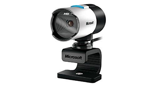 Microsoft Q2F-00015 LifeCam Studio HD Webcam (Skype zertifiziert), silber/schwarz