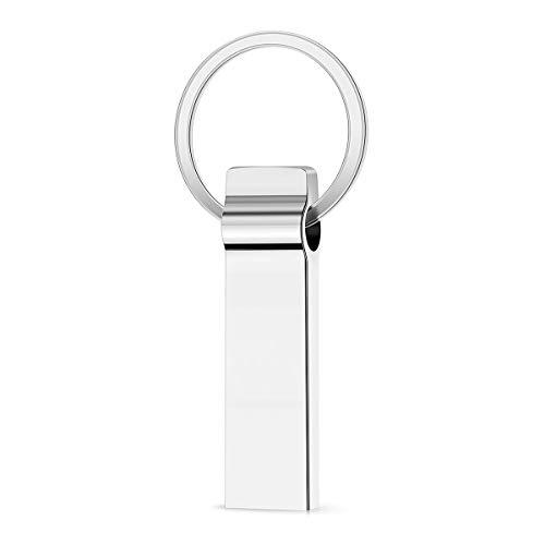 Memoria USB impermeable, metal Pen Drive portátil Flash Drive para ordenador portátil,...