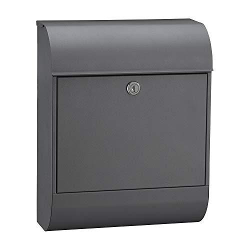 MEFA Briefkasten Pearl 872 (Einwurfklappe oben, Entnahme vorne, Größe: 450x352x160 mm) 872500DE