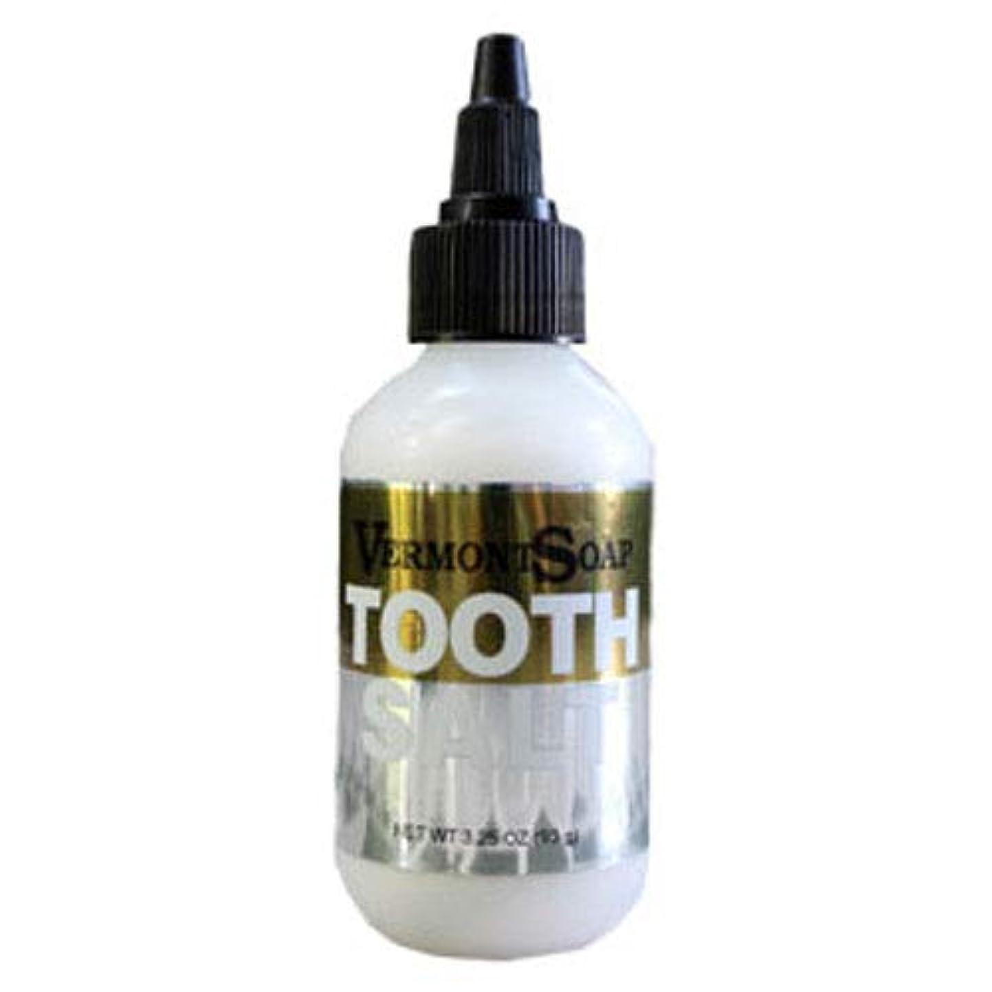 保守可能そばに魅了するバーモントソープ 塩歯みがき 口臭予防 (S)