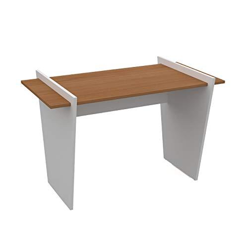 LEVIRA – Mesa de Oficina, Escritorio, San - 120 x 74 - Cerezo Choco