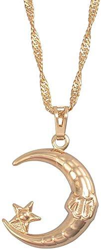 Collar Tarjeta de corazón africano Collares pendientes y pendientes Tarjetas de África Conjuntos de joyas Acero inoxidable Adornos étnicos africanos Longitud 60cm Collar de cadena delgada Regalo