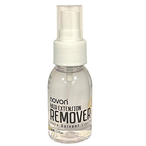 Novon Hair Extensions Remover für Tape und Bonding 50ml - Haarverlängerung Entferner für Bondings und Tapes Haar Extentions