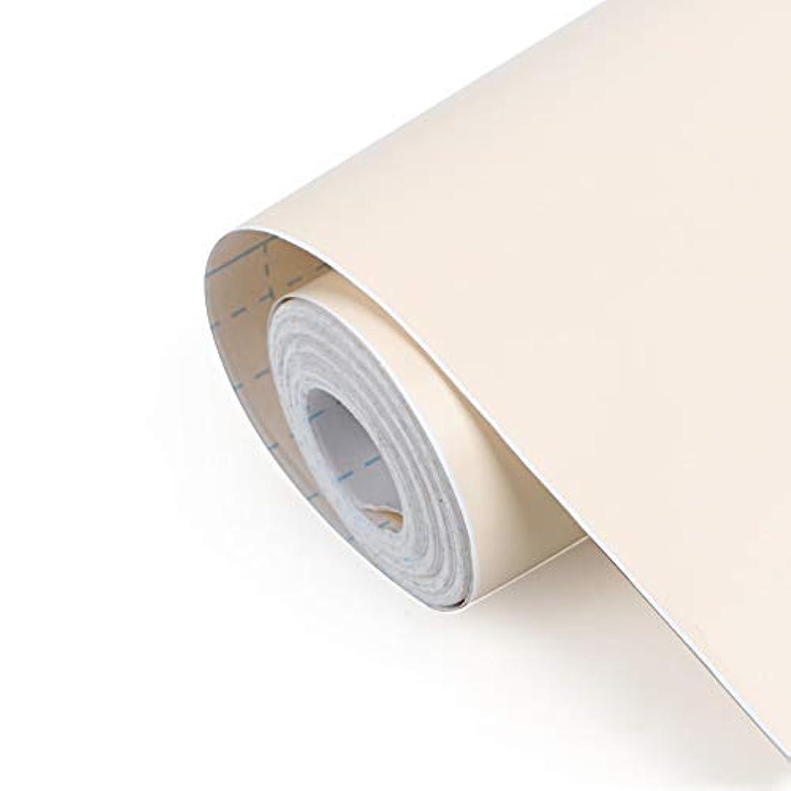 持続するタクト揺れるRAIN QUEEN 壁紙シール はがせるシール リメイクシート 壁紙シート 冷蔵庫ステッカー 家具リフォーム リフォーム補修 ウォールステッカー壁紙 リフォーム 家具ウォールステッカー 貼り付け簡単 ベッジュ 防水加工 家具リメイクシート 45cmX10M