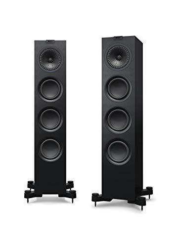 KEF Q550 Par de altavoces negros, HiFi | Cine en casa |...