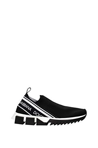 Dolce&Gabbana , Herren Sneaker *, Schwarz - Schwarz  - Größe: 39 EU