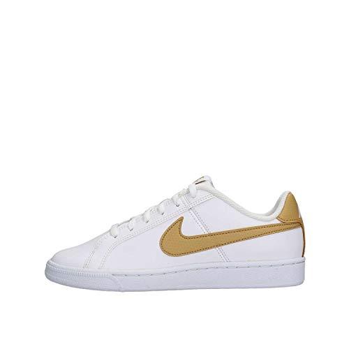 Nike Court Royale (GS), Scarpe da Fitness, Multicolore (White/Club Gold 105), 38 EU