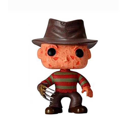 ZOXI Classic Horror Movies A Nightmare On Elm Street Freddy Krueger 10Cm Pop Action Figure Toys Collection Dolls Gifts for Children