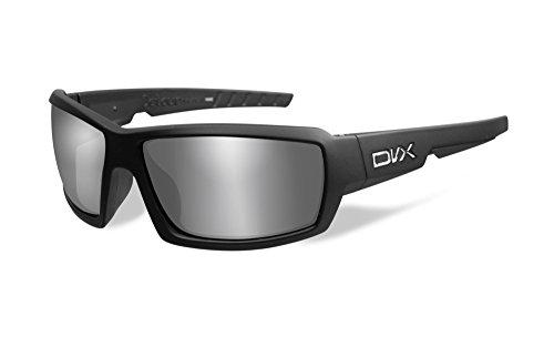 DVX Detour - ANSI Z87.1 - Polarized Grey Lenses/Matte Black Frame (OSHA Compliant Safety Glasses)