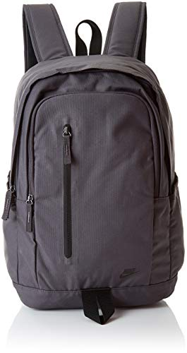 Nike Nk All Access Soleday Bkpk - S, Unisex Adults' Backpack, Multicolour (Thunder Grey/Black B), 15x24x45 cm (W x H L)