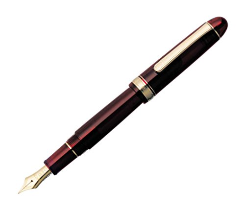 Platinum Fountain Pen # 3776 Century Burgundy Fine PNB-10000#71 (Japan Import)