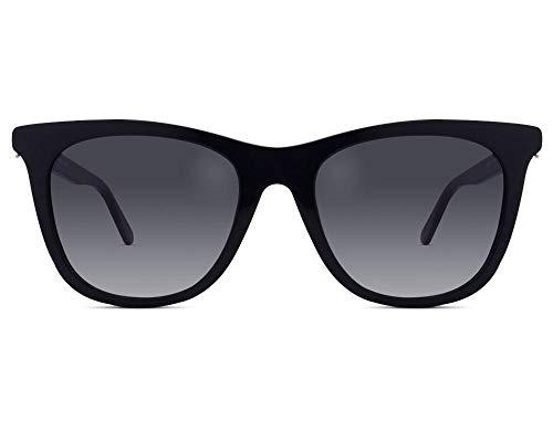 Love Moschino Damen MOL005/S Sonnenbrille, Schwarz (BLACK), 52