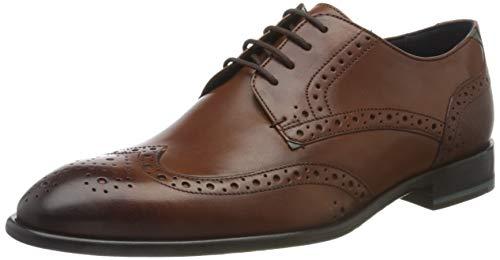 Ted Baker TRVSS, Zapatos de Cordones Brogue Hombre, Marrón (Tan Tan), 43 EU