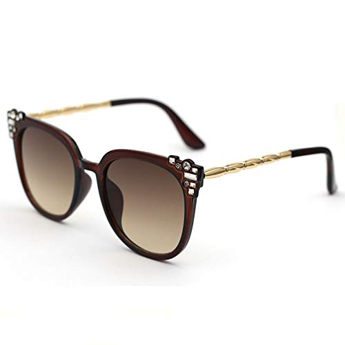 Gafas de Sol Gafas De Sol De Ojo De Gato con Diamantes De Moda para Mujer, Gafas De Ojo De Gato Sexis De Cristal Vintage para Mujer, Gafas De Diamante